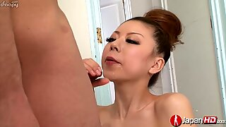 Fabulous blowjob and voluptuous sperm swallowing by a young whore.
