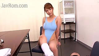 Japanese swimsuit busty wife affair her bro
