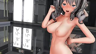 3D MMD Sweet Devil - Kashima