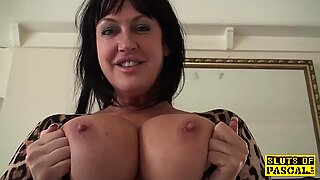 Busty mature dominated with doggystyle