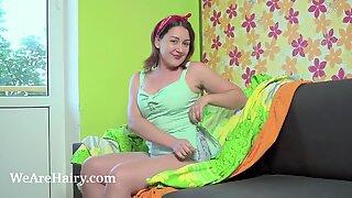 Ella Nori masturbates after time on her balcony