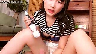 Japanese Girl Playing With Sex Toys And Giving Handjob While Her Boyfriend Sleeps [Full Movie: JavHeat.com/zBOUz]