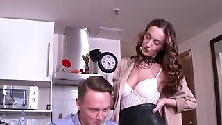 Anal-Angels.com - Hazel Dew - Teacher grabs student   s dick