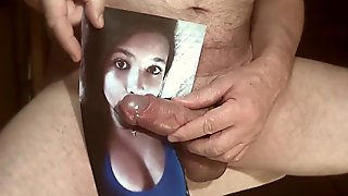 Tribute for FranklinMaster - facial cumshot cum on tits