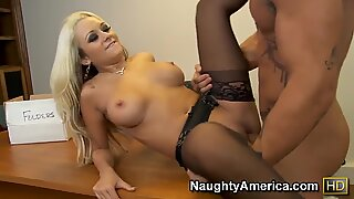 Briana Blair is ate out & fucked by a savage