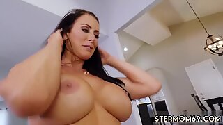 Teen loves older guys first time Hot MILF For His Birthday