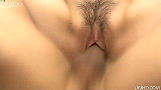 After winning a dick hot and cute brunette Huwari demonstrates her sucking skills
