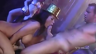 Belladonna and her kinky friends getting all their juicy holes fucked
