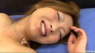 Fucking the beautiful Japanese babe Shiho Kanou gets pretty wild