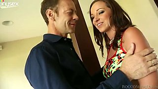 Rocco Siffredi is in love with Jada Stevens' big round booty