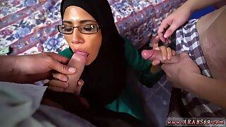Hairy arab anal Desperate Arab Woman Fucks For Money