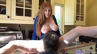 MILFTRIP Big Tit redhead MILF shows her northern hospitality
