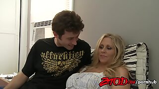 ZTOD - super-hot cougar Julia Ann Fucks Young guy