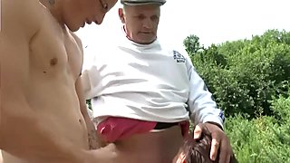 Old French men are such pervs - Telsev