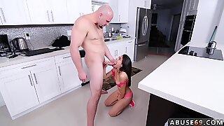 Teen threesome squirt Kira Adams gets a large facial cumshot after rough sex - Katrin E