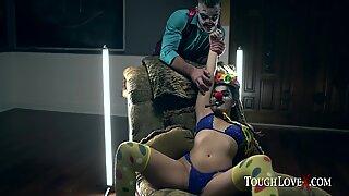 TOUGHLOVEX Violet Starr Lets JokerX Stuff her Pussy