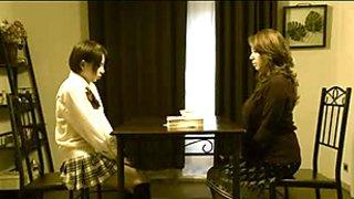 Japanese Lesbian Anal Training