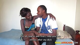 Real African Couple Hardcore Fucking