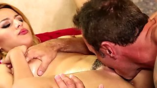 NuruMassage EXCLUSIVE Step-Daughter and Daddy