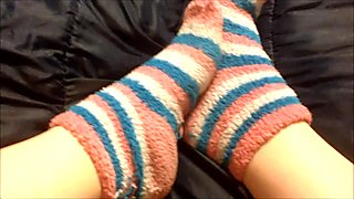 Fuzzy socks Strip Pov
