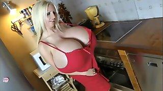 Beshine huge fake tits