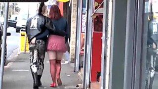 Girls Out West - Amateur Australian punk couple having sex