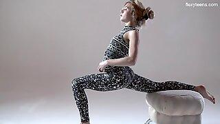 Russian Hot Hairy Gymnast Rita Mochalkina