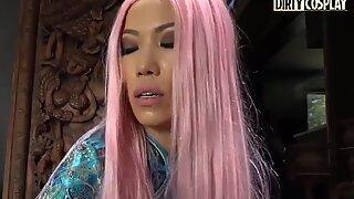 DIRTY COSPLAY Dirty Sensei Fucks That Asian Teen Kalina Ryu