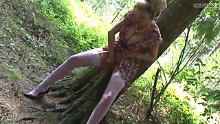 Lady in the forest 2