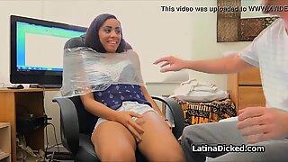 Banging assy Latina girlfriend on sex tape