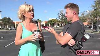 Stunningly hot MILF Sasha Sean gets her tight twat banged hard by her photographer - Sasha Blonde
