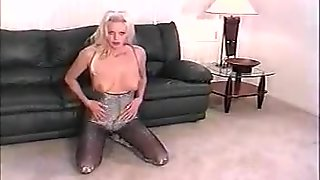 shiny bodystocking