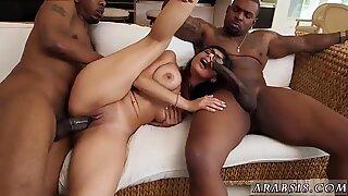 Arab wife fucked My Big Black Threesome