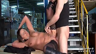 Horny french mature mom hard double teamed and facialized