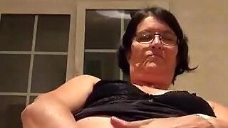 Granny touches herself