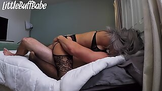 Goth Girl, Tatted with Perfect Pussy and Loves Sucking Cock