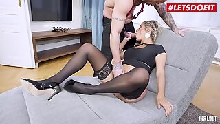 LETSDOEIT - Busty Mia Linz Gapes Her Huge Ass On Mike's Cock