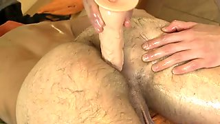 Pretty boy is delighting twink with wild blowjobs