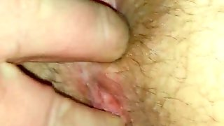 Wife's pussy fingered