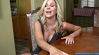 Jodi West wank Stepson to help with probes!