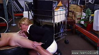 Czech blonde train first time Hot Milf Banged At The PawnSHop
