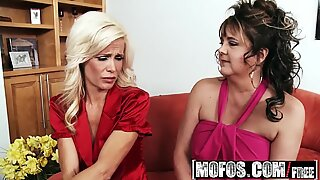 Mofos - Milfs Like It Black - Big Black Dick for Lonely Divorcees starring