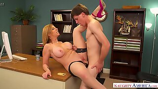 No work, let'_s jerk! A Labor Day fucking with Sara Jay