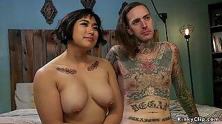 Asian mistress facesitting alt slave