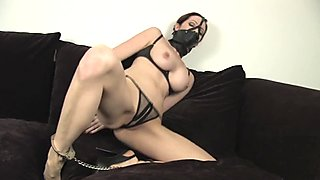 Handcuffed, ironed and gagged