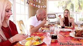 Amateur teen toy webcam Spanksgiving With The Family