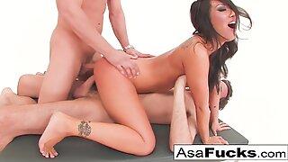 Asa's Double Anal & Double Penetration!