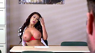 Busty babe Angelica Taylor fucked by her teacher