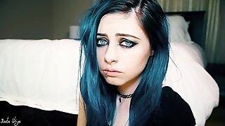 Orgasm Face blue eyes beautiful agony