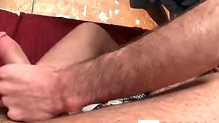 Two enchanting dudes can't hold their cock-sucking desires
